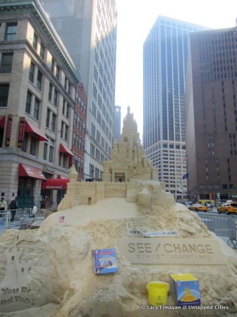 NYC Sandcastle