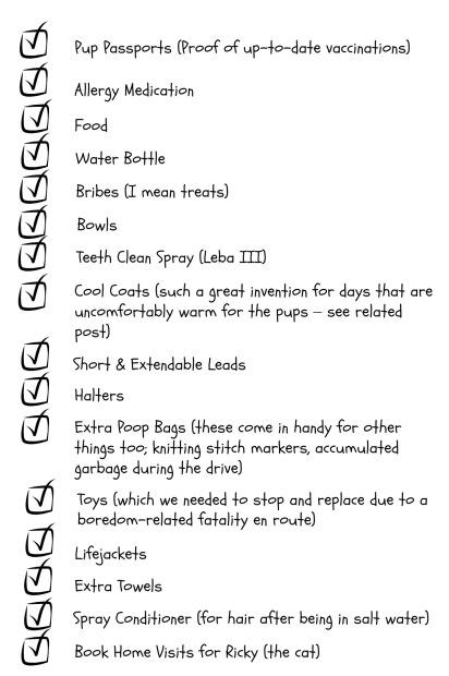 vacation list