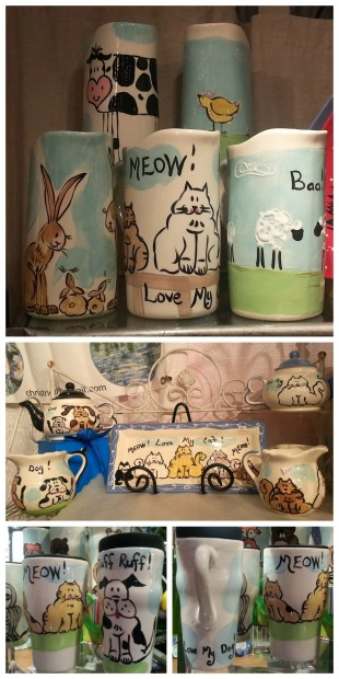Milk jugs, coffee mugs and more!