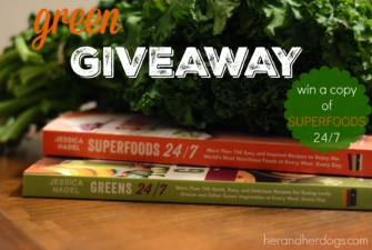 RECIPE BOOK GIVEAWAY – SUPERFOODS 24/7